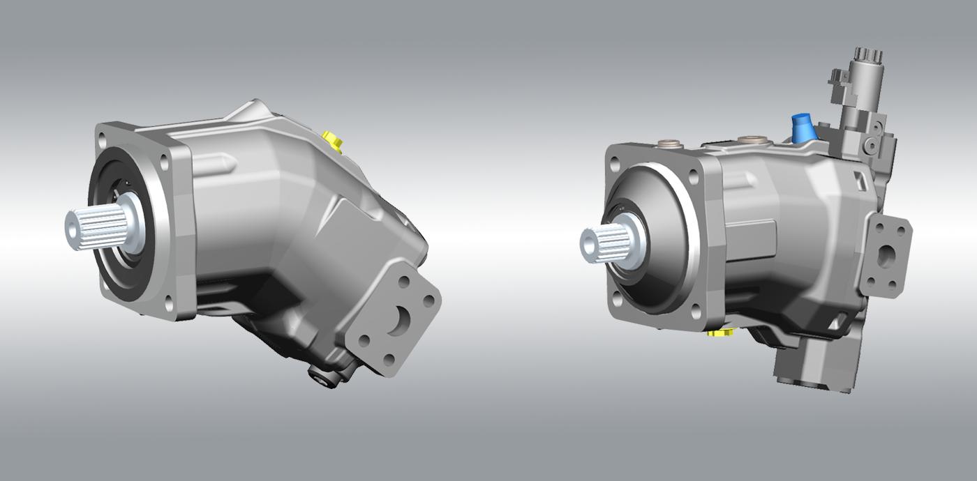 Linde Hydraulics Bent Axis Motors